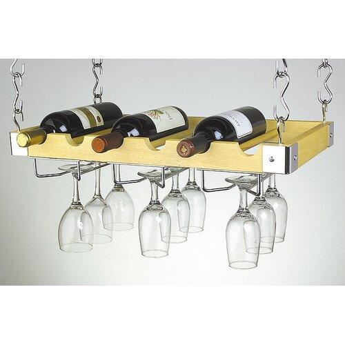 6 Bottle Hanging Wine Rack
