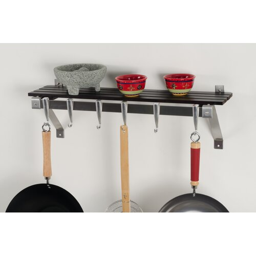Wall Mount Pot Rack