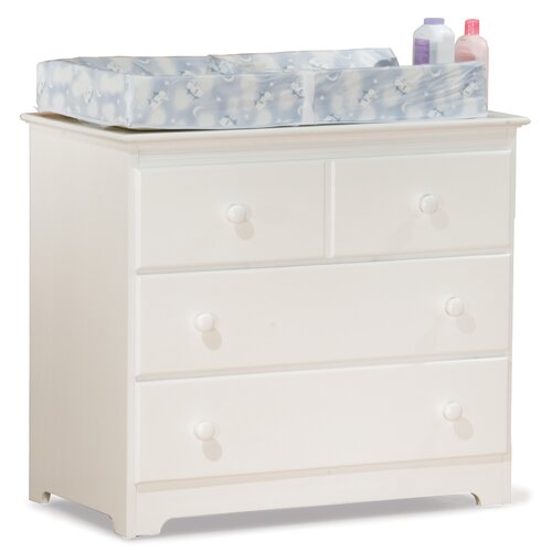 Atlantic Furniture Windsor 3 Drawer Changing Dresser