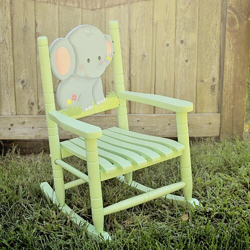 Teamson Kids Elephant Kid's Rocking Chair