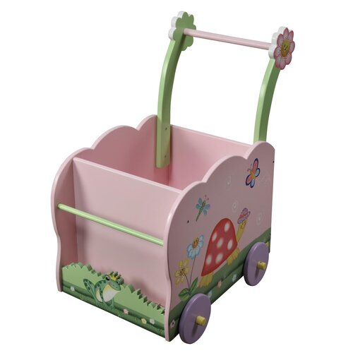 Teamson Kids Magic Garden Wagon Ride-On