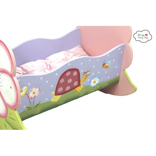 Teamson Kids Magic Garden Kid's Rocking Bed