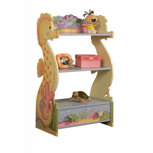 "Teamson Kids Under The Sea 38"" Bookcase"