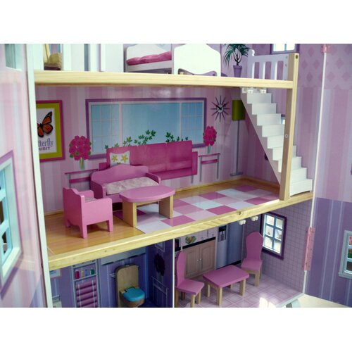 Teamson Kids Dollhouse New York Mansion