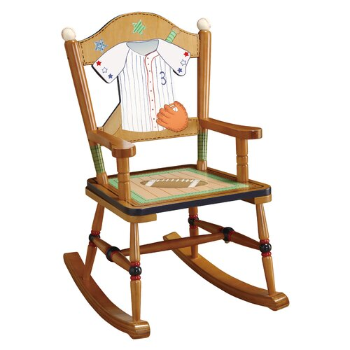 Little Sports Fan Kid's Rocking Chair