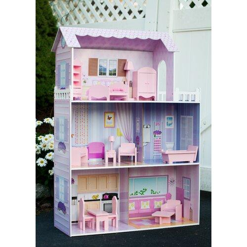 Teamson Kids Fancy Mansion Doll House