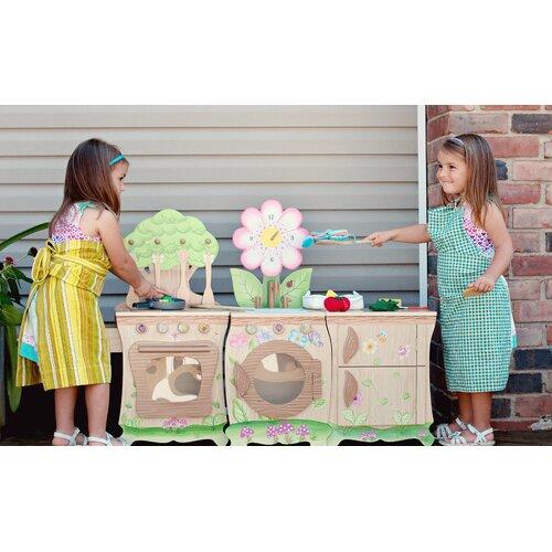 Teamson Kids Forest Kitchen Sink & Washer