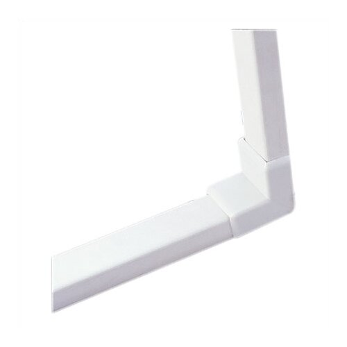 Ambiance Track Lighting Wall to Ceiling Cover in White