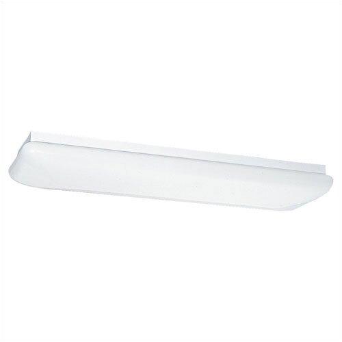 2 Light Fluorescent Strip Light