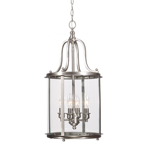 Gillmore 4 Light Foyer Lantern Pendant