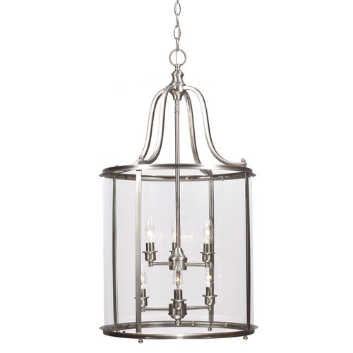 Gillmore 6 Light Foyer Lantern Pendant