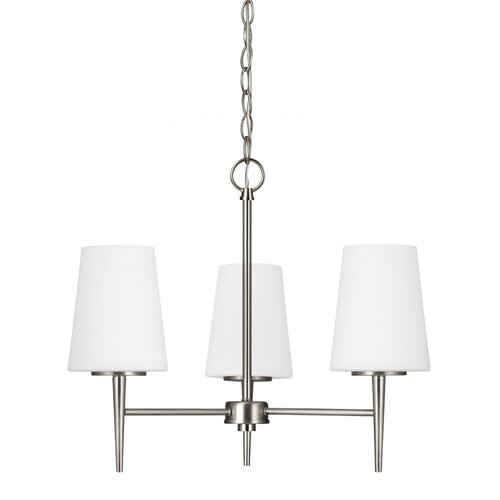 Driscoll 3 Light Mini Chandelier