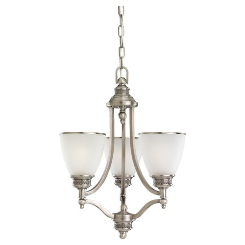 Laurel Leaf 3 Light Chandelier