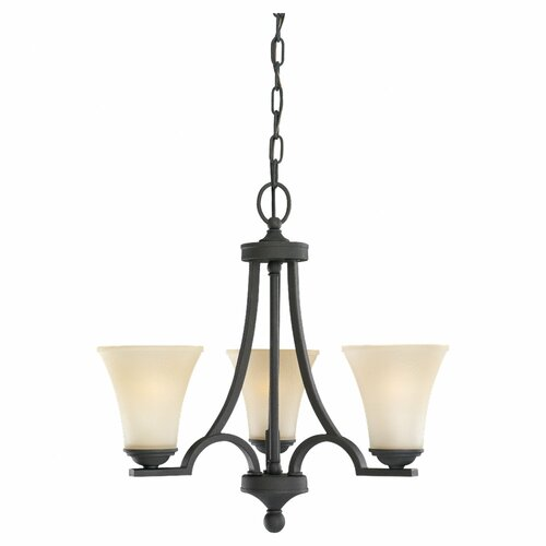 Sea Gull Lighting Somerton 3 Light Chandelier