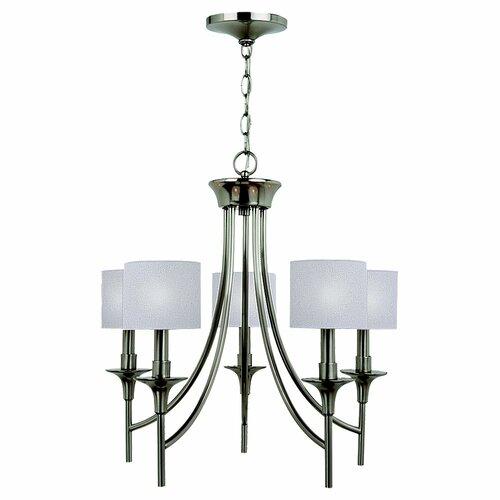 Sea Gull Lighting Stirling 5 Light Chandelier