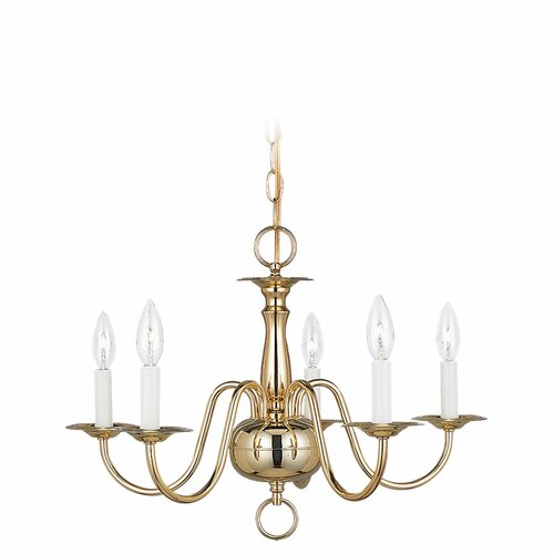 5 Light Traditional Chandelier
