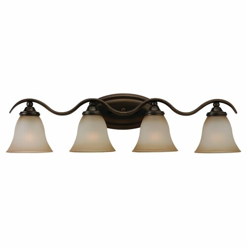 Sea Gull Lighting Rialto 4 Light Vanity Light