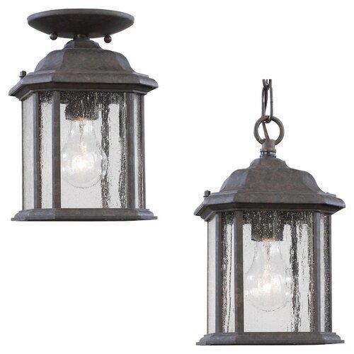 Sea Gull Lighting Kent Outdoor Pendant Lantern