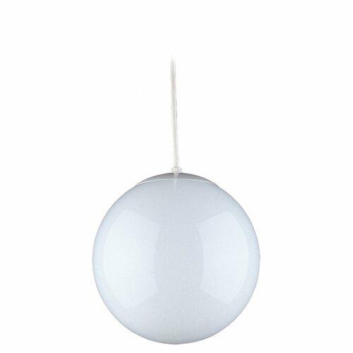 Sea Gull Lighting 1 Light Globe Pendant