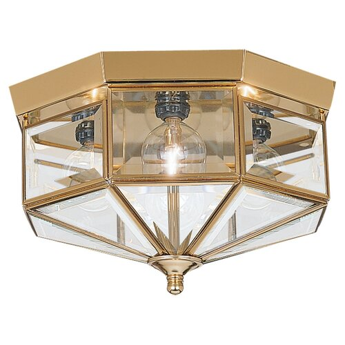 "Sea Gull Lighting 6.5"" 4 Light Flush Mount"