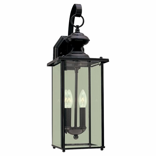 Sea Gull Lighting 2 Light Outdoor Wall Lantern