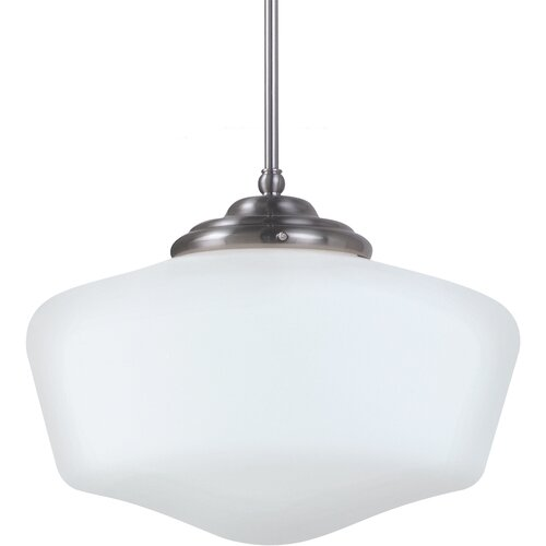 Sea Gull Lighting Academy 1 Light Pendant
