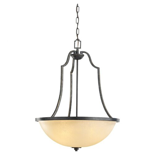 Sea Gull Lighting Roslyn 3 Light Inverted Pendant