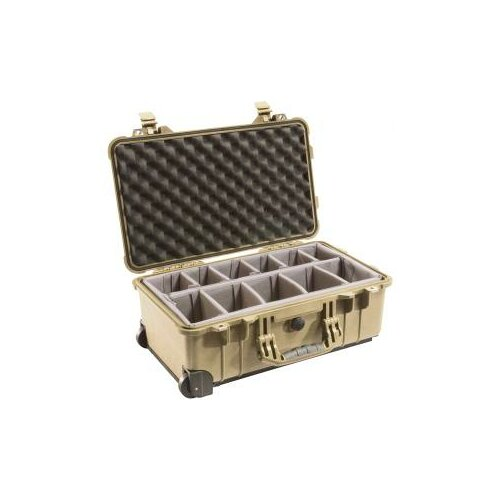 Pelican Products Case with Padded Divider