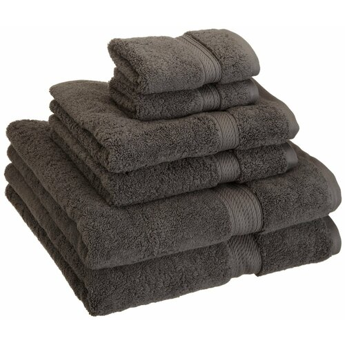 Simple Luxury Superior 900 GSM Egyptian Cotton 6-Piece Towel Set