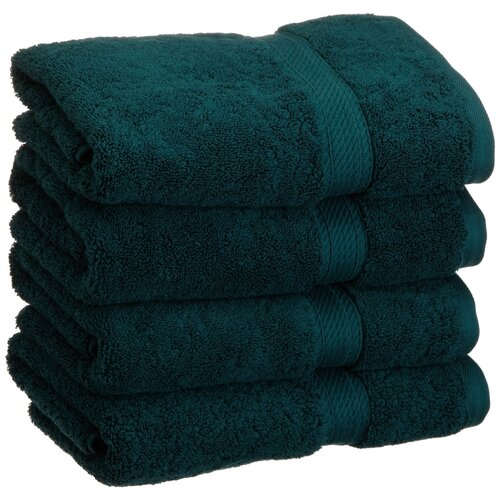 Simple Luxury Superior 900 GSM Egyptian Cotton 4-Piece Hand Towel Set