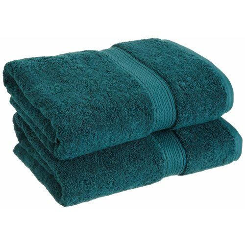 Simple Luxury Superior 900 GSM Egyptian Cotton 2-Piece Bath Towel Set