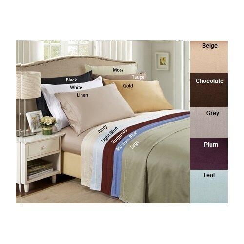 Simple Luxury 650 Thread Count Egyptian Cotton Stripe Pillowcase Pair