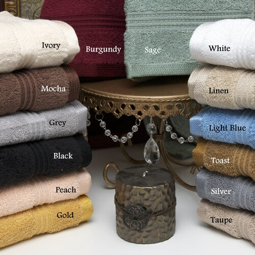 Simple Luxury Egyptian Cotton 600gsm Hand Towel (Set of 8)