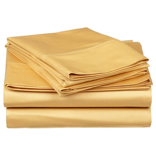 Vanessa Collection Microfiber Solid Sheet Set