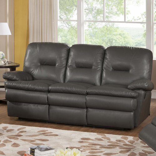 Rodin Leather Reclining Sofa