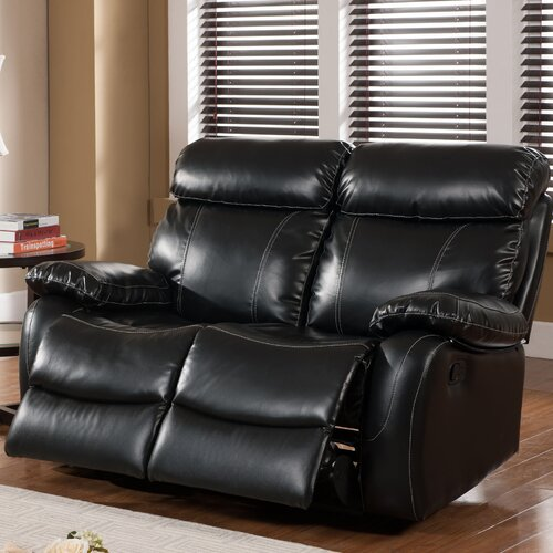 Chateau Leather Reclining Loveseat