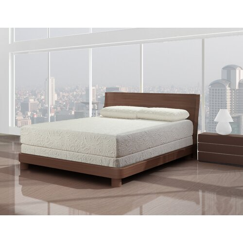 Primo International Kathy Ireland Jardin Society Fresh Breeze Memory Foam Mattress