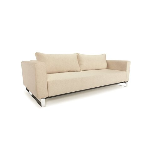 Innovation USA Cassius Sleek Convertible Sofa