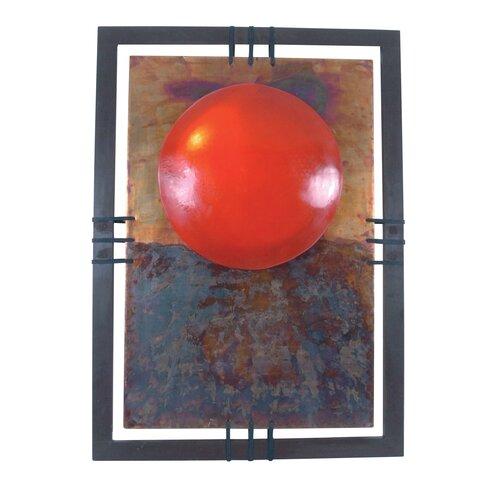 Näve Leuchten Dekoartikel-Bild Elements in Rot