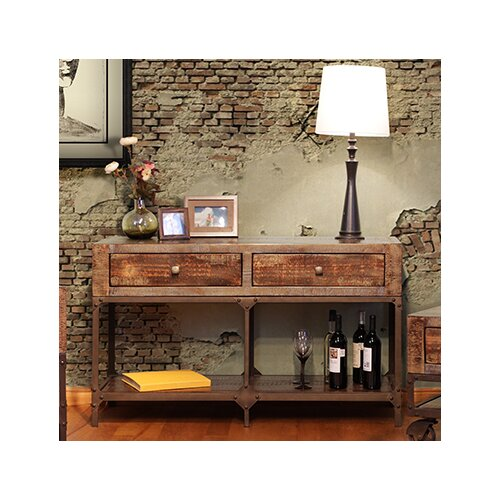 Artisan Home Furniture Urban Gold Console Table & Reviews