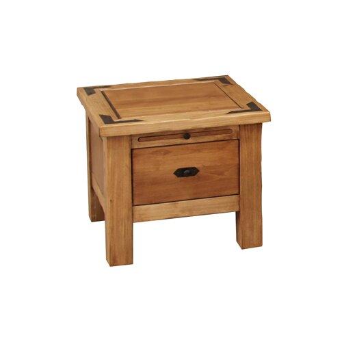 Artisan Home Furniture Lodge End Table & Reviews