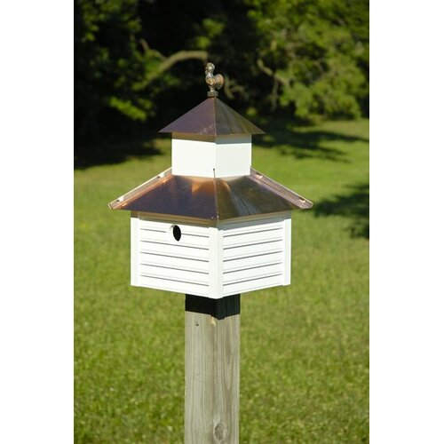 Rusty Rooster Bird House