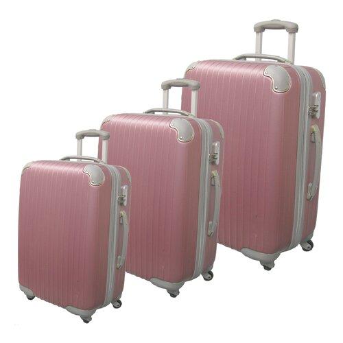 Eco-friendly 3 Piece Upright Luggage Set