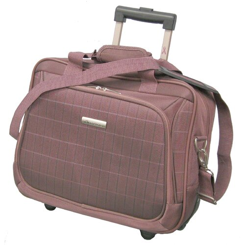 McBrine Luggage Vivanti Series Wheeled Tote