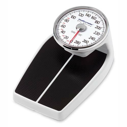 Health o Meter Large Raised Dial Scale, Black