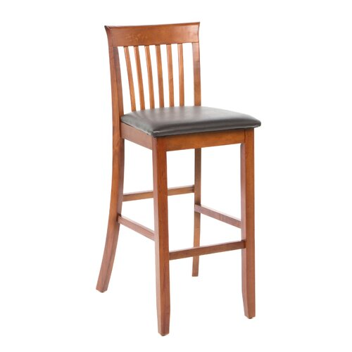 "Linon Triena 30"" Bar Stool with Cushion"