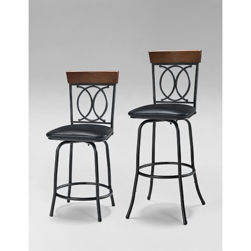 Adjustable Bar Stool (Set of 3)
