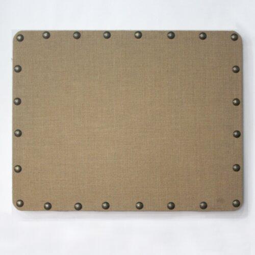Linon Burlap Memo Board