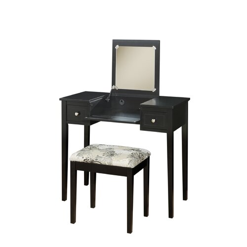 Linon Jackson Vanity Set With Mirror Reviews