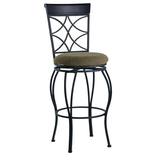 "Linon Curves 30"" Bar Stool"